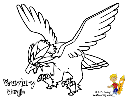 Small Picture Pokemon Black And White Coloring Pages