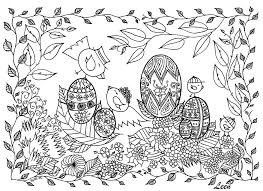 Free Easter Coloring Pages New Easter Duck With Eggs Free N Fun Ruva