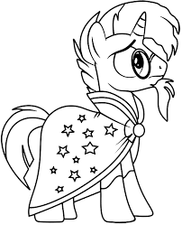 Coloring pages ever after high. Print Star Swirl Coloring Page My Little Pony Topcoloringpages Net