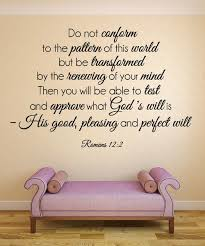 Christian Scripture Quotes Best Of Romans 2444244 Bible Verse Wall Decal 244 Verses Wall Decals And
