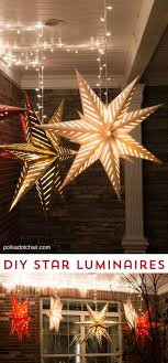 how to hang star luminaires on your front porch what a clever idea for decorating