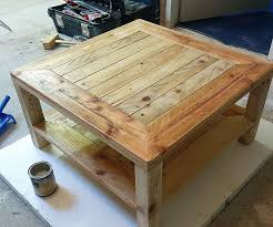 Making A Coffee Table From Pallets Unique Pallet Furniture Hi Res