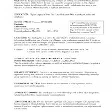 Cool Teaching Resume Objective Statement Examples Photos Entry