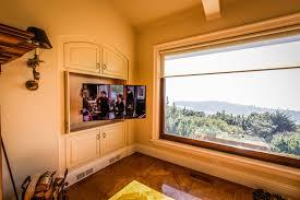 project profile motorized articulating tv mount soundvision san francisco marin napa sonoma