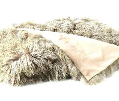 grey mongolian faux fur rug 2 x 4 lamb blush sheepskin fleece for dogs lambskin throw grey mongolian faux fur rug