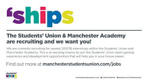 jobs university of manchester students union jobs