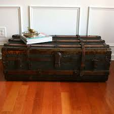 coffee table box trunk coffee table shabby chic trunk coffee regarding 2017 large trunk coffee