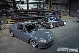 1993 Honda Civic Si & 1994 Honda Del Sol - Honda Tuning Magazine