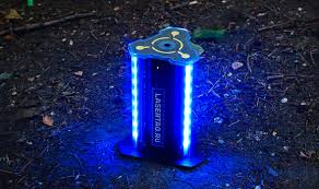 Контрольная Точка smart forpost Обратная связь с игровыми комплектами происходит при помощи ИК излучателей Они так же задействован при активации радиации в нескольких игровых режимах