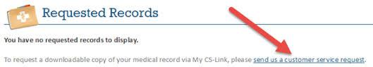 Download Medical Records On My Cs Link Cedars Sinai