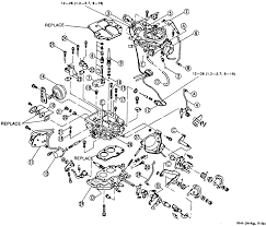 1 b2200 exploded view of the carburetor refer to the text for ponent identification b2600 similar