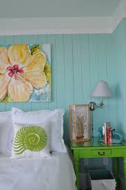 tropical beach bedroom modern decoration