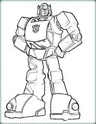 Transformers Printable Coloring Pages Transformer Bumblebee To Print