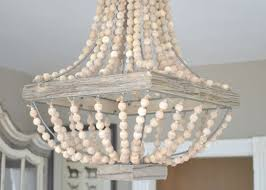 confortable wood bead chandelier on inspirational home decorating throughout wood beaded chandelier view 19
