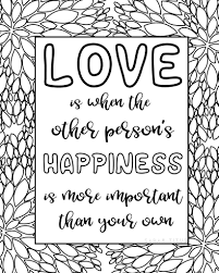 Free simple bible verse coloring pages for christmas. Free Printable Love Quotes Coloring Sheets Sarah Titus From Homeless To 8 Figures