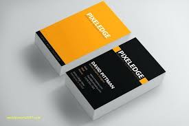Free Double Sided Business Card Template Card Template Double Sided