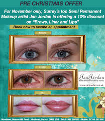 10 on brows liner and lips in november 2016 for november only surrey s top semi permanent makeup