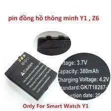 Pin Đồng Hồ Thông Minh Y1, Z6 - Đồng hồ thông minh Thương hiệu No Brand