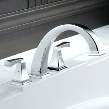 freestanding tub with deck mount faucet deck mount bathtub faucet deck mount bathtub faucet delta double