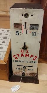 Vintage Stamp Vending Machine Cool Antique American Stamp Machine Discussion Stamp Community Forum