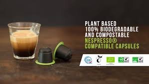 Every 100 million coffee pods that canadians use would be the same height as more than 5,000 cn towers if you could stack them on top of each other. Biodegradable Compostable Coffee Pods For Nespresso Capsule Pack