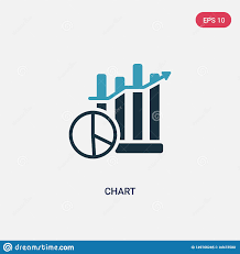 Two Color Chart Vector Icon From Smart House Concept