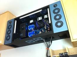 wall mounted computer cases cases a wall mounted a built a tech room a forums best