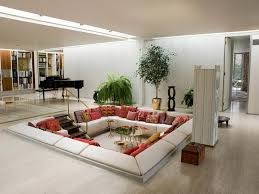 large rectangular living room