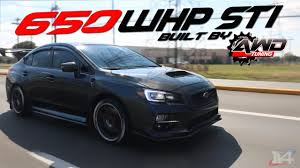 2015 Subaru WRX STI Fully Built by AwdTuning Review BOOSTED 650 ...