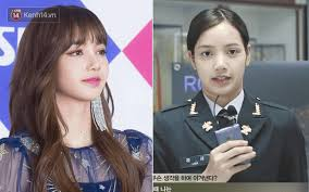 acting as the one that has a strong character in the group lisa often has to wear thick makeup it may be the reason why many people think that her bare