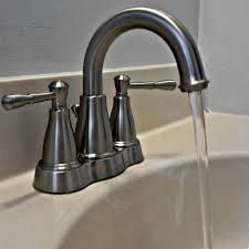 how to fix a leaky bathroom sink faucet double handle delta faucets repair replace