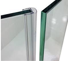 frameless shower glass door seals