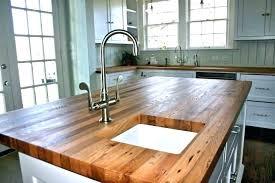 home depot wood countertops acacia sealer sealant look laminate canada custom