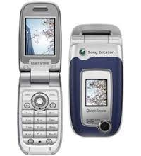 sony ericsson flip phone 2005. (2005-2006) sony ericsson \u2013 got this phone after my cingular one broke loved one. then someone stepped on it at a track meeting\u2026 flip 2005