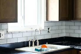 subway tile backsplash diy installing herringbone glass average cost of installation