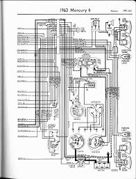 1963 mercury comet wiring diagram 1963 wiring diagrams mercury wiring diagrams