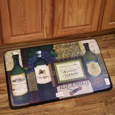 Floor Mat For Kitchen Memory Foam Anti Fatigue Kitchen Floor Mat French Wine Anti