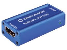 <b>Аксессуар Oehlbach HDMI UHD</b> Repeater - Чижик