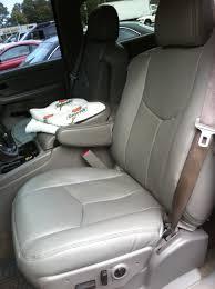 2002 chevy silverado leather seat repair