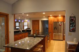 Birch Wood Kitchen Cabinets Transitional Kitchen Beautiful Double Stacked Birch Wood Cabinets