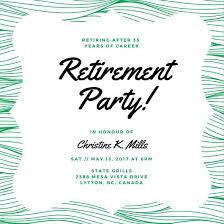 Customize 3 999 Retirement Party Invitation Templates Online Canva