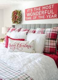 25 unique christmas bedroom decorations ideas