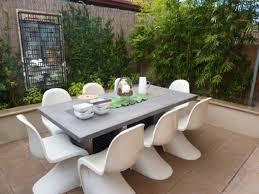 modern furniture  modern outdoor dining furniture large cork
