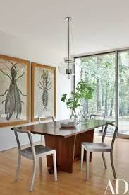 look inside a midcentury modern house in new canaan connecticut luxury dining tablesdining table designdining areakitchen diningcontemporary