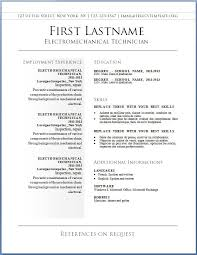 Stylish Resume Format
