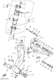 Yamaha gts 1000 front steering