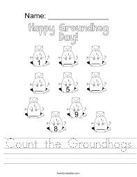 Groundhog Worksheets Free Worksheets Library | Download and Print ...