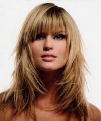 Long Layered Hairstyles With Bangs Billedstrom Com
