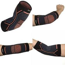 Kunto Fitness Elbow Brace Compression Support Sleeve For