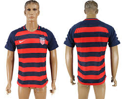 Usa Concacaf 2017 Gold Jersey Thailand Cup Soccer Away